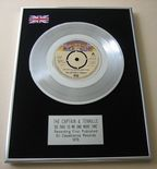 CAPTAIN & TENNILLE - DO THAT TO ME ONE MORE TIME Platinum Single Presentation Disc